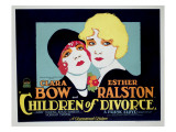 Children of Divorce, Clara Bow, Esther Ralston, 1927 Photo
