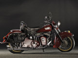 1953 Indian Roadmaster Chief Photographic Print by S. Clay