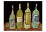 Bottles of White Prints by Deann Hebert