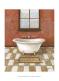 Upscale Bath I Posters by Norman Wyatt Jr.