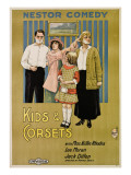 Kids and Corsets, Billie Rhodes, 1915 Posters