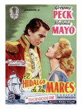 Captain Horatio Hornblower, Gregory Peck, Virginia Mayo, 1951 Posters