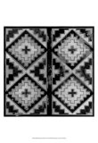 Mudcloth Black and White IV Prints by Norman Wyatt Jr.