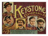 Keystone Film Company, Phyllis Allen, Syd Chaplin, Mack Swain, Harry McCoy, Chester Conklin, 1910 Photo