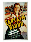 Captain Blood, Errol Flynn, 1935 Posters