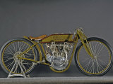 1921 Harley Davidson Board Track Racer Papier Photo par S. Clay