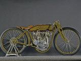 1921 Harley Davidson Board Track Racer Fotografisk trykk av S. Clay