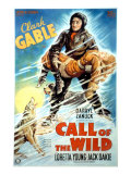 The Call of the Wild, Clark Gable, Loretta Young, 1935 Posters