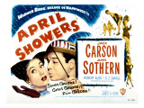 April Showers, Ann Sothern, Jack Carson, 1948 Plakater