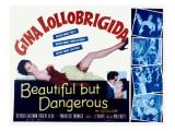 Beautiful But Dangerous, Gina Lollobrigida, 1956 Posters