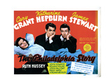 The Philadelphia Story, Katharine Hepburn, Cary Grant, James Stewart, 1940 Prints