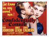 Confidentially Connie, Van Johnson, Janet Leigh, 1953 Láminas