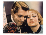 Dancing Lady, Clark Gable, Joan Crawford, 1931 Lminas
