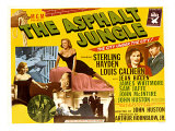 The Asphalt Jungle, with James Whitmore, Marilyn Monroe, and Louis Calhern, 1950 Affiches