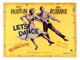 Let's Dance, Betty Hutton, Fred Astaire, 1950 Prints
