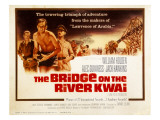 The Bridge on the River Kwai, Jack Hawkins, William Holden, Alec Guinness, 1957 Photo