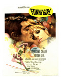 Funny Girl, Omar Sharif, Barbra Streisand, 1968 Photo