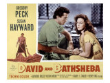 David and Bathsheba, Gregory Peck, Susan Hayward, 1951 Photo