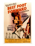 Best Foot Forward, Lucille Ball, Harry James, 1943 Posters