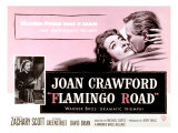 Flamingo Road, Joan Crawford, David Brian, 1949 Poster