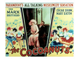The Cocoanuts, Margaret Dumont, Groucho Marx, 1929 Premium Giclee Print