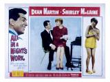 All in a Night's Work, Dean Martin, Shirley Maclaine, 1961 Photo