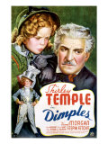 Dimples, Shirley Temple, Frank Morgan, 1936 Poster