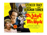 Dr. Jekyll and Mr. Hyde, Lana Turner, Spencer Tracy, Ingrid Bergman, 1941 Posters