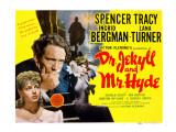 Dr. Jekyll and Mr. Hyde, Lana Turner, Spencer Tracy, Ingrid Bergman, 1941 Photo