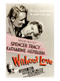 Without Love, Spencer Tracy, Katharine Hepburn, 1945 Print