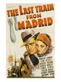 The Last Train from Madrid, Lew Ayres, Dorothy Lamour, 1937 Photo