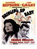 Bringing Up Baby, Katharine Hepburn, Cary Grant, 1938 Prints