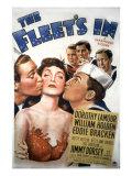 The Fleet's In, William Holden, Dorothy Lamour, Eddie Bracken, 1942 Photo