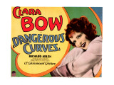 Dangerous Curves, Clara Bow, 1929 Affiches