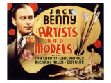 Artists and Models, Jack Benny, 1937 Photo