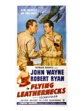 Flying Leathernecks, John Wayne, Robert Ryan, Janis Carter, 1951 Affiches