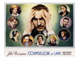 Counsellor at Law, John Barrymore, Malka Kornstein, Onslow Stevens, and Doris Kenyon, 1933 Photo
