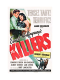 The Killers, Burt Lancaster, Ava Gardner, 1946 Prints