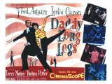 Daddy Long Legs, Fred Astaire, Leslie Caron, 1955 Print