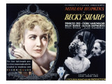 Becky Sharp, Miriam Hopkins, Cedric Hardwicke, 1935 Posters