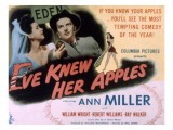 Eve Knew Her Apples, Ann Miller, William Wright, 1945 Posters