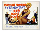 Let&#39;s Make Love, Frankie Vaughan, Marilyn Monroe, Yves Montand, 1960 Prints