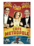 Cafe Metropole, Tyrone Power, Loretta Young, Adolphe Menjou, 1937 Photo