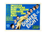 Dinner at Eight, with Marie Dressler, John Barrymore, Wallace Beery, and Lionel Barrymore, 1933 Prints