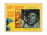 High Noon, Sheb Wooley, Grace Kelly, Gary Cooper, 1952 Posters