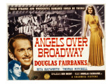 Angels over Broadway, Thomas Mitchell, Douglas Fairbanks Jr., Rita Hayworth, 1940 Photo
