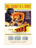 1984, Jan Sterling, Edmond O&#39;Brien, 1956 Posters