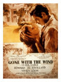 Gone with the Wind, Vivien Leigh, Clark Gable, 1939 Fotografía