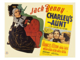Charley's Aunt, Jack Benny, Anne Baxter, Arleen Whelan, 1941 Posters