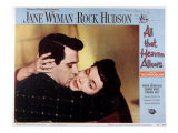 All That Heaven Allows, Rock Hudson, Jane Wyman, 1955 Posters